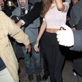 Rihanna - braless candids in hollywood - celebrity