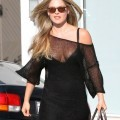 Ali larter - cleavage candids in los angeles - celebrity