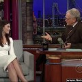 Jessica biel on the late show with david letterman - celebrity