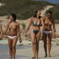 Sexy beach girls - topless - 45