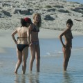 Amateur girls on beach 11