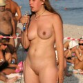 Amateur girls on beach 42
