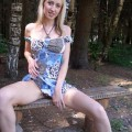 Horny amateur blonde 1