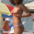 Amateur girls on beach 10