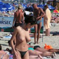 Amateur girls on beach 40
