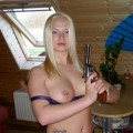 Horny amateur blonde 36