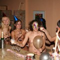 Amateur naked party