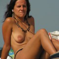 Amateur girls on beach 21