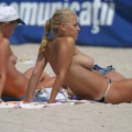 Amateur girls on beach 30