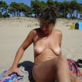 Amateur girls on beach 39