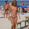 Amateur girls on beach 27