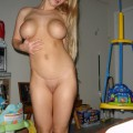 Horny amateur blonde 40
