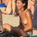 Amateur girls on beach 43