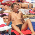 Amateur girls on beach 16