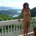 Horny milf on vacation 3