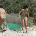 Amateur girls on beach 15