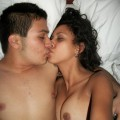 Sexy latina amateur couple 14