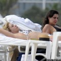 Chloe sevigny shows off bikini body in miami beach - celebrity