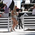 Lindsay lohan - topless photoshoot candids in miami - celebrity