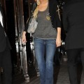 Paris hilton - braless see-through candids in paris - celebrity
