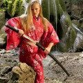 Samurai hottie