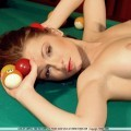Pool table hottie
