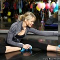 Katrina bowden at the gym sports old navy active in new york - celebrity
