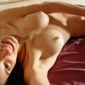 She shows her hot body 16