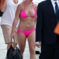 Britney spears in pink bikini in marina del rey - celebrity
