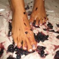 Blueberry feet