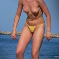 Topless girls on the beach - 137
