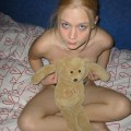 Teeny shaved blondie by billybos request