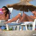 Topless girls on the beach - 163