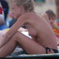 Topless girls on the beach - 112