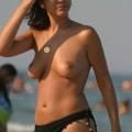 Topless girls on the beach - 271