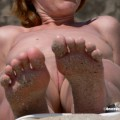Nude girls on the beach - 300