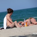 Topless girls on the beach - 267