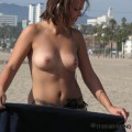 Topless girls on the beach - 198