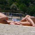 Topless girls on the beach - 094 - part 3