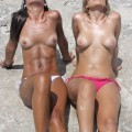 Beach - gemma and danielle 1