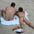 Couples on the beach