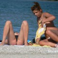 Topless girls on the beach - 106