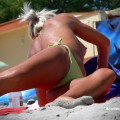 Topless girls on the beach - 264