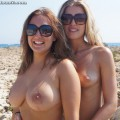 Beach - alexa and petra