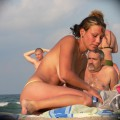 Topless girls on the beach - 144