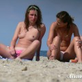 Topless girls on the beach - 210