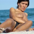 Topless girls on the beach - 063 - part 2