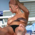 Topless girls on the beach - 265