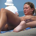 Topless girls on the beach - 224 - small tits