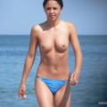 Topless girls on the beach - 216